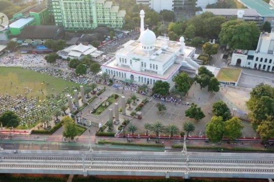 Masjid Al-Azhar terapkan protokol Shalat Idul Adha