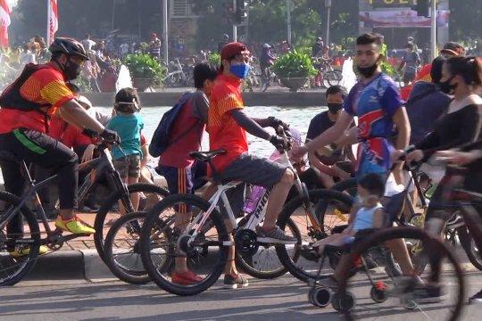 Bersepeda itu sehat, tapi jangan berlebihan