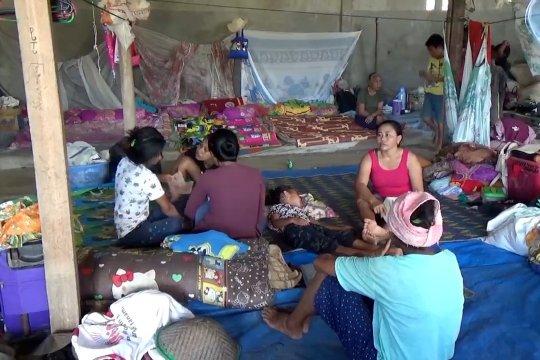 Diare dan penyakit kulit ancam pengungsi korban banjir Konawe