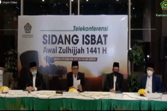 Idul Adha 1441 H jatuh pada Jumat 31 Juli
