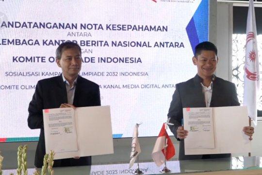 KOI dan ANTARA dukung Indonesia tuan rumah Olimpiade 2032