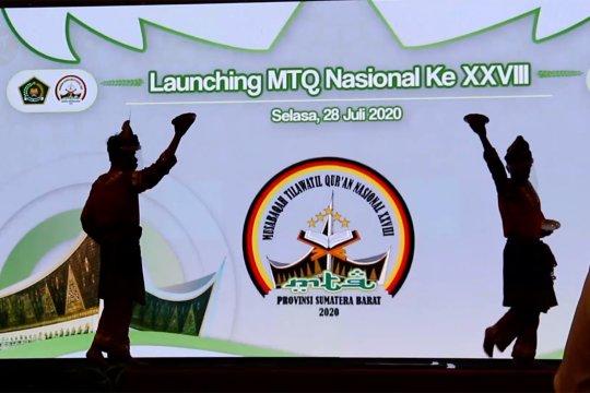 Menag luncurkan MTQ 2020 di Sumbar secara virtual