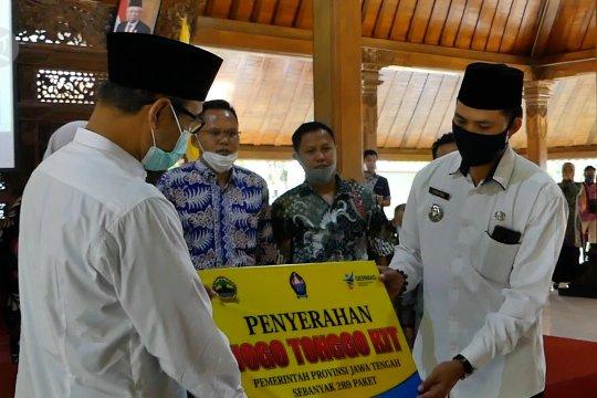 Pemprov Jateng berikan 289 paket peralatan Jogo Tonggo