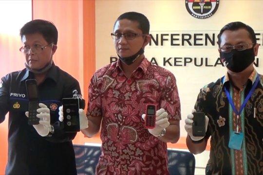 Polisi sita ribuan ponsel pasar gelap di Batam