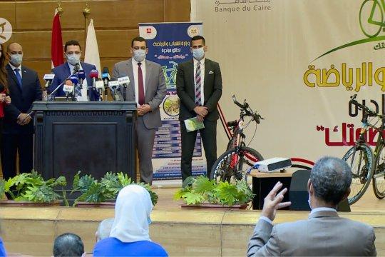 Bersepeda jadi gaya hidup baru di Mesir