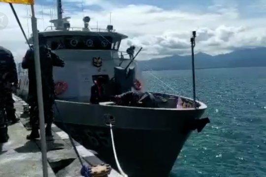 Hadirnya kapal perang baru di Dermaga Lanal Palu