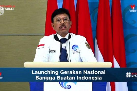 Kemkominfo luncurkan Gerakan Nasional Bangga Buatan Indonesia