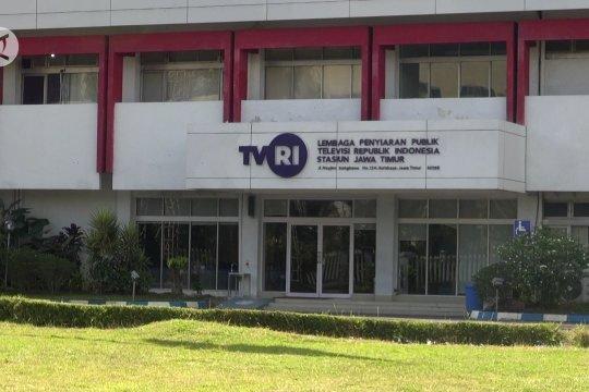 Puluhan karyawan COVID-19, TVRI Jatim & RRI Surabaya setop siaran