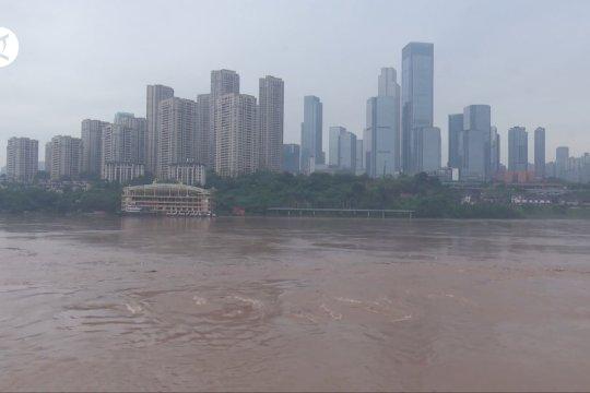 Hampir 24 juta warga terdampak banjir di China