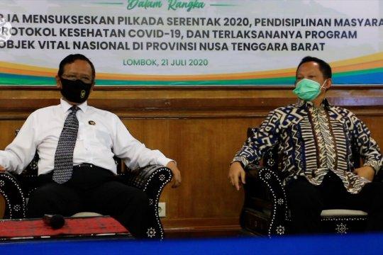 Jadikan pandemi peluang, Mahfud MD dan Tito Karnavian apresiasi NTB