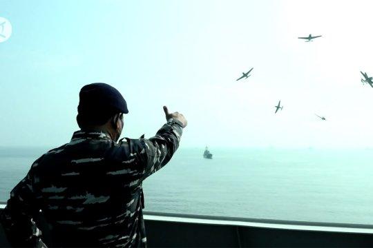 Koarmada 1 gelar simulasi pertahanan serangan udara