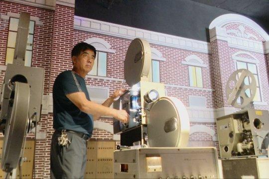Kolektor film dirikan museum film lama di Hebei, China
