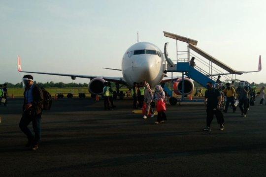 Perjalanan mudik Idul Adha pada transportasi udara