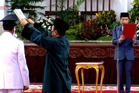 Presiden Jokowi lantik Isdianto sebagai Gubernur Kepulauan Riau
