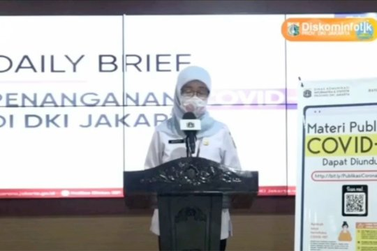 Positif COVID-19 di DKI Jakarta melonjak 344 kasus