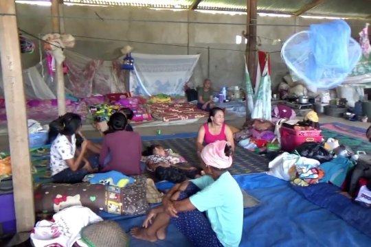 Banjir Konawe putuskan akses jalan, 474 warga desa terisolasi