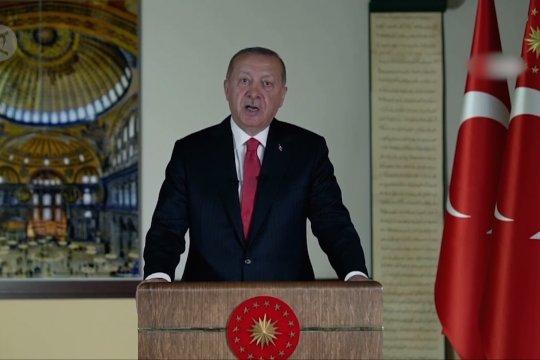 Erdogan umumkan shalat pertama di Hagia Sophia pada 24 Juli