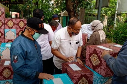 BNPB dan PASKI bagikan 1 juta masker gratis untuk masyarakat prasejahtera
