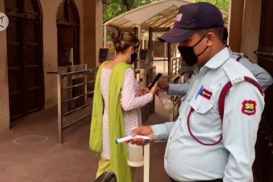 India buka 3700 obyek wisata, meski kasus COVID-19 dekati 700.000
