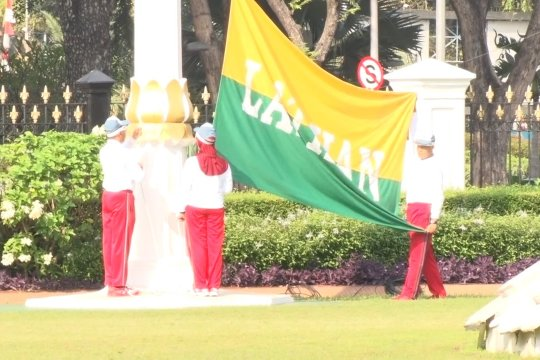 Perayaan HUT RI, masyarakat diajak upacara bendera virtual