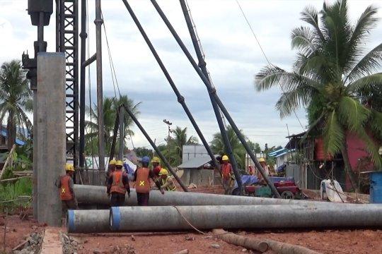 Warga Pulau Bromo Banjarmasin sambut gembira pembangunan jembatan penghubung