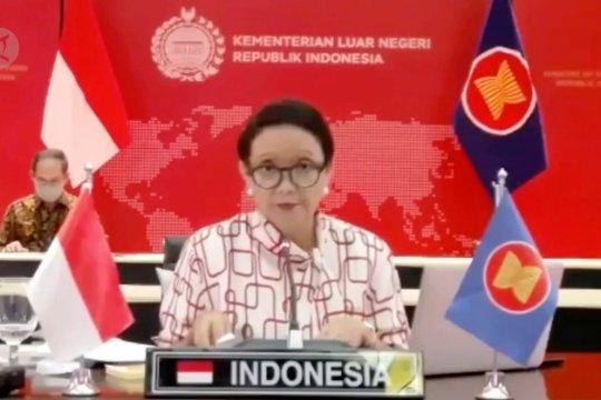 Menlu Retno dorong kolaborasi obat dan vaksin COVID-19 ASEAN-Australia