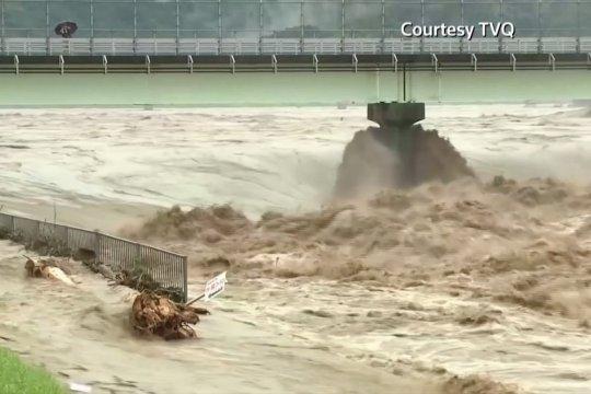 Banjir hantam Pulau Kyushu, puluhan orang dikhawatirkan tewas