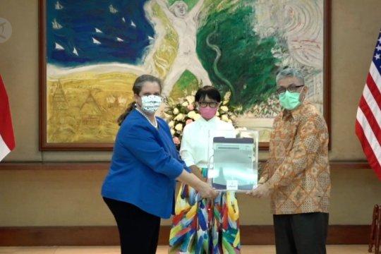 Indonesia terima kiriman 100 ventilator dari AS