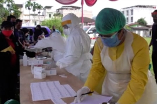 KPU Medan lakukan tes cepat terhadap 4.294 PPDP