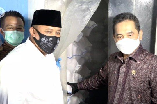 Mendag resmikan sistem resi gudang ayam pertama di Indonesia