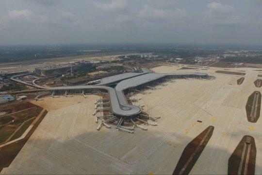 Proyek perluasan bandara internasional Haikou hampir selesai