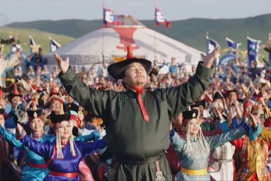Yang berbeda dari Festival Naadam tahun ini di Mongolia