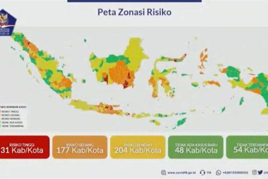 Zona merah pekan ini paling rendah, 6,03%