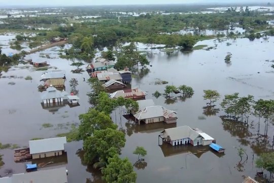 Banjir Konawe meluas, rendam 16 kecamatan 49 desa