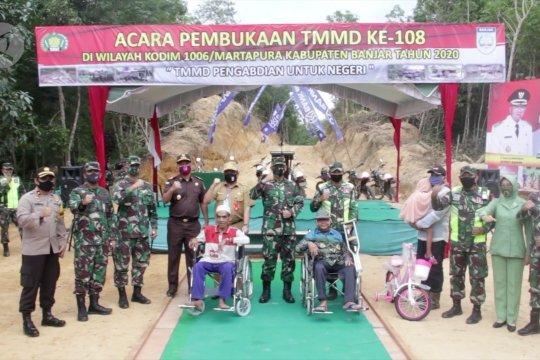 TMMD ke 108 Kodim 1006 Martapura resmi dibuka