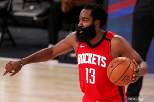 Harden ukir 49 poin, Rockets tundukkan Mavericks 153-149