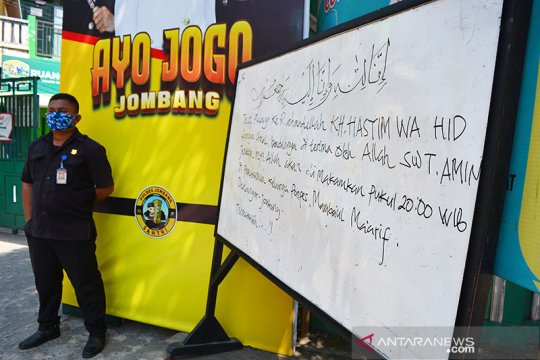 Jenazah Gus Im dibawa ke Denanyar Jombang lewat jalur darat