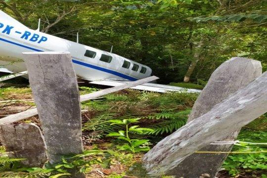 Bawa bansos, Pesawat Tariku alami kecelakaan di Distrik Siriwo Paniai