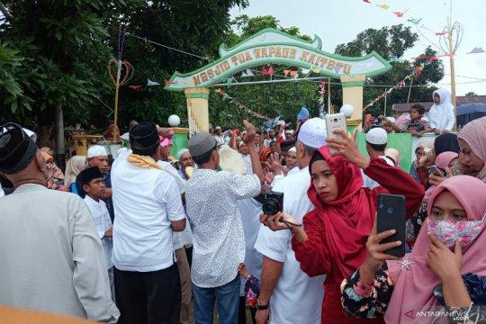 Warga Kaitetu tetap gelar pawai hadrat untuk semarakkan Idul Adha