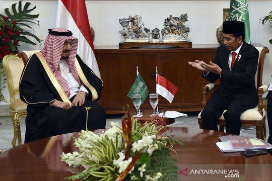 Presiden Jokowi telepon Raja Salman sampaikan ucapan selamat Idul Adha