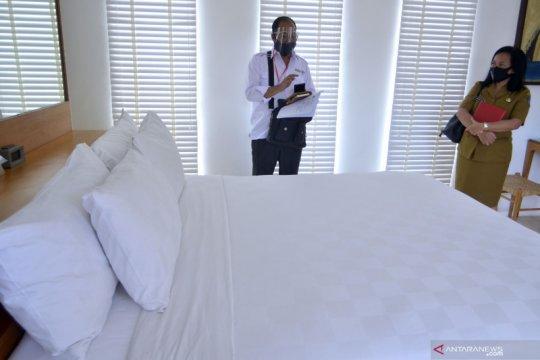 Tim verifikasi lakukan pemeriksaan jasa akomodasi hotel di Bali