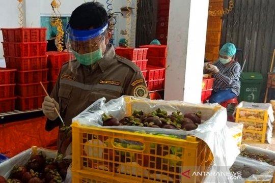 Sumbar kembali ekspor manggis setelah sempat terhenti akibat COVID-19