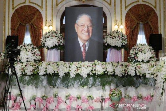 Mantan pemimpin Taiwan Lee Teng-hui dimakamkan