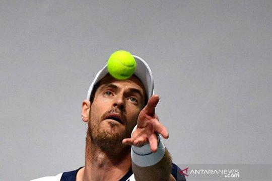 Andy Murray menilai tak mudah kalahkan tiga petenis top dunia