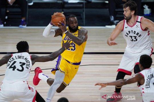 NBA : Kyle Lowry pimpin Raptors tundukkan LA Lakers