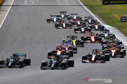 Balapan F1 GP Inggris di sirkuit Silverstone