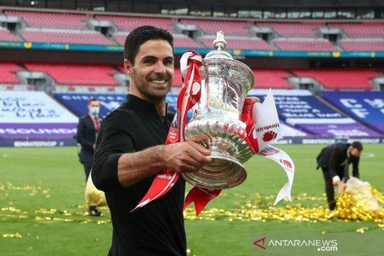Antar Arsenal juara FA, Arteta: ini permulaan bagus!