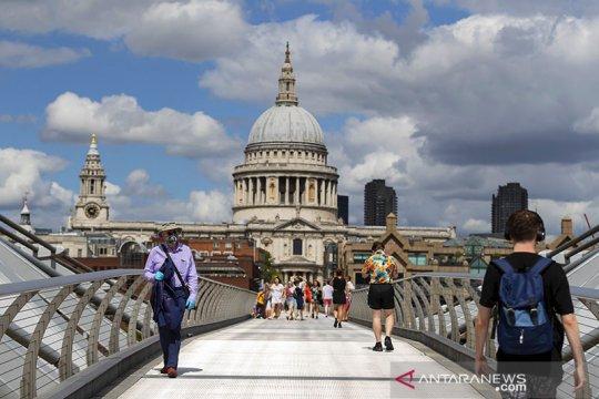 Inggris laporkan lonjakan harian tertinggi COVID-19 sejak 21 Juni