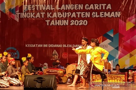 "Disbud Sleman selenggarakan ""Festival Langen Carita 2020"""