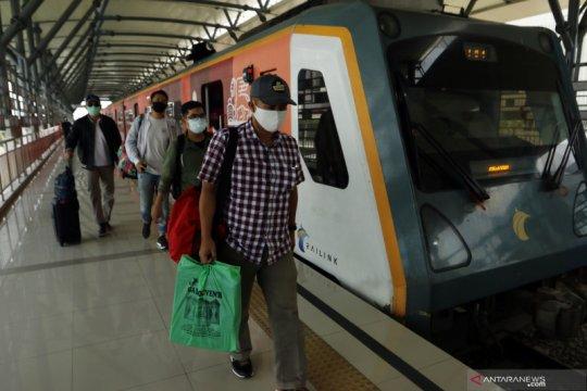 Kereta api Bandara Kualanamu kembali beroperasi